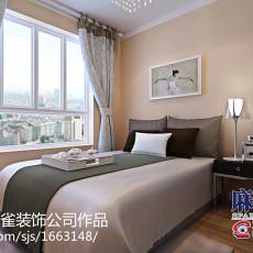 热门77平方二居卧室现代效果图片大全