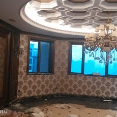 热门面积123平欧式四居客厅装修效果图片大全