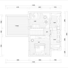 面积113平复式卧室现代欣赏图片大全