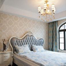 面积124平欧式四居卧室装修实景图片大全