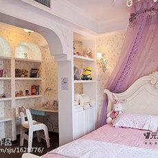精选面积121平欧式四居卧室装修实景图片大全