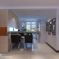 精选109平米三居餐厅现代装修图片欣赏
