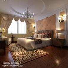 精选面积94平欧式三居卧室装修设计效果图片欣赏