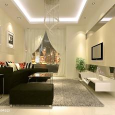精美面积88平现代二居客厅效果图