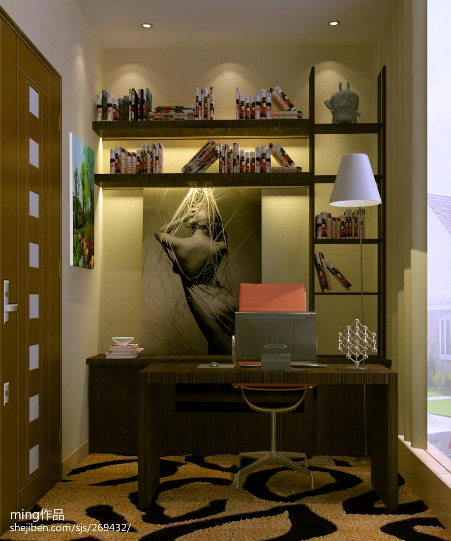 精选现代二居书房装修欣赏图