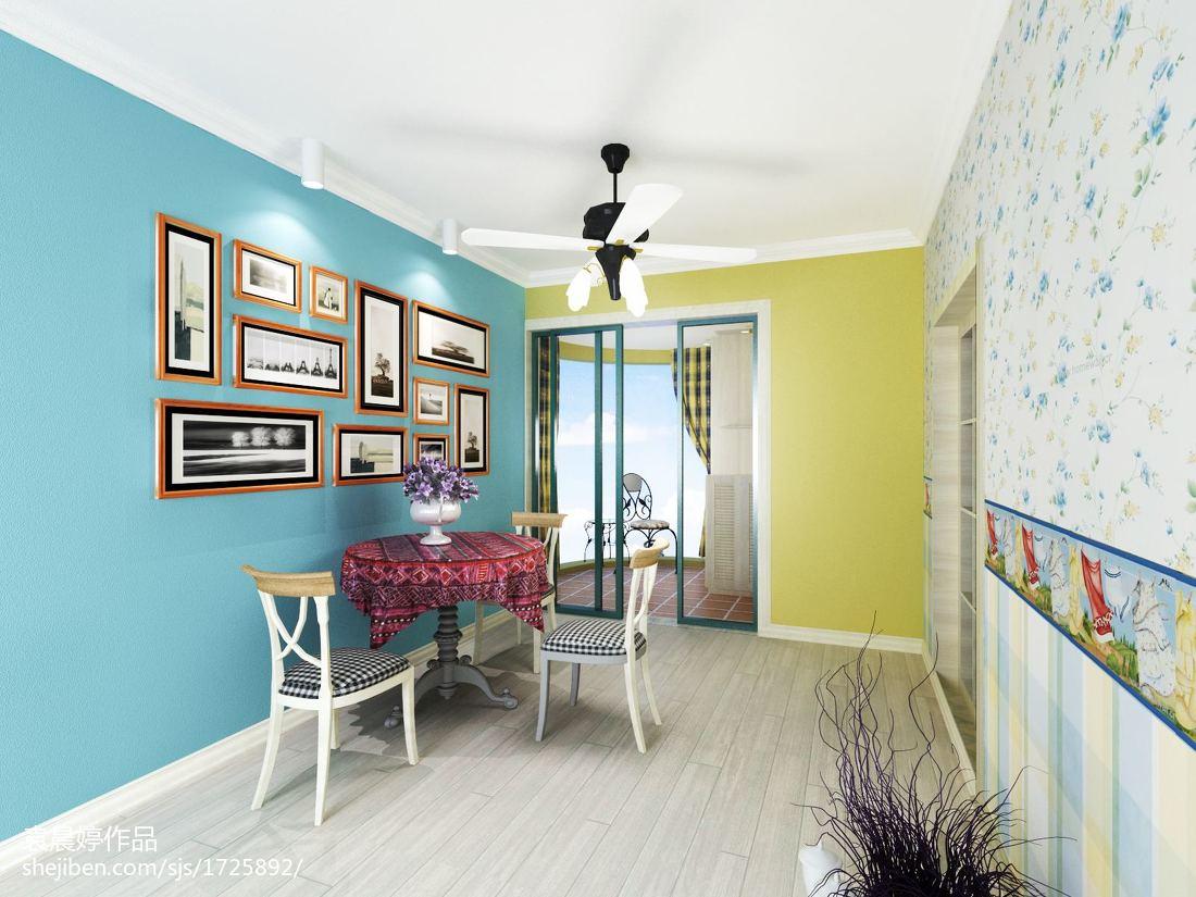 蓝白地中海风格家居装饰