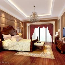 热门现代别墅卧室装修欣赏图