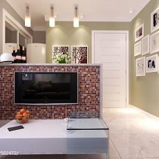 2018精选大小83平现代二居客厅装修实景图片大全