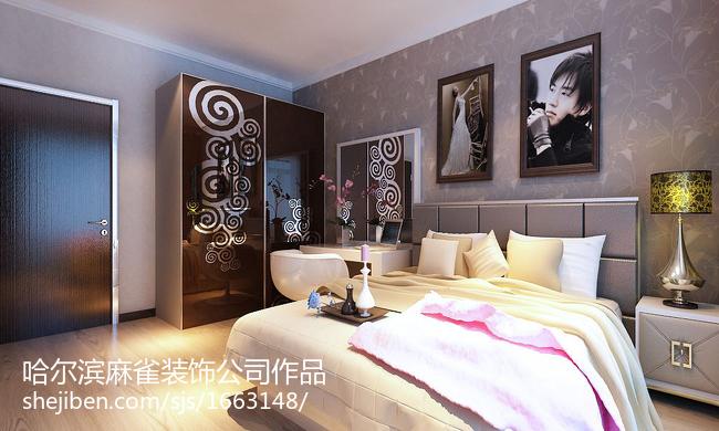 精美小户型卧室现代装修图片欣赏