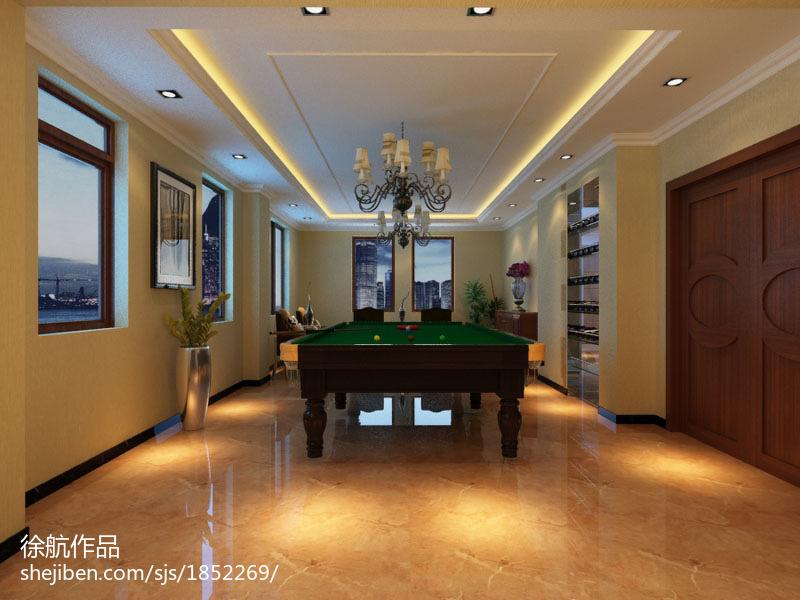 欧式风格装修客厅休闲区图片