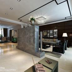 精选114平米现代复式客厅效果图片欣赏