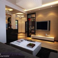 精选大小85平现代二居客厅效果图