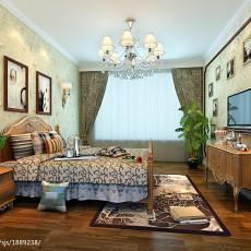 精选面积82平地中海二居卧室装修实景图片大全