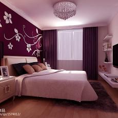 热门大小87平现代二居卧室装修设计效果图片欣赏