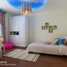 热门二居儿童房现代装修欣赏图