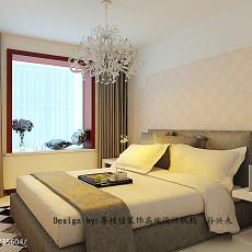 热门101平米三居卧室现代装修实景图片欣赏