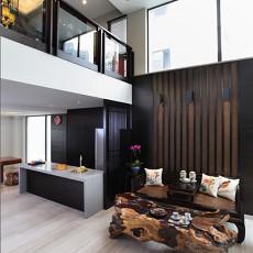 热门面积129平别墅客厅新古典装饰图片
