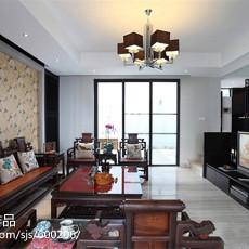 2018140平米新古典别墅客厅欣赏图