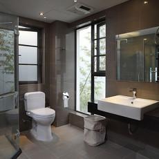 128平米新古典别墅卫生间装修欣赏图片大全
