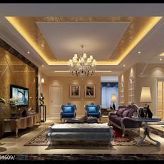 精美面积109平欧式三居客厅欣赏图