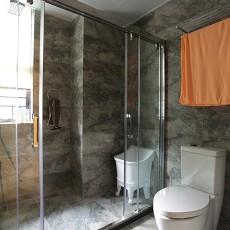 热门142平米中式别墅卫生间装修效果图