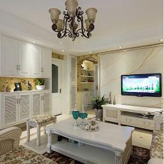 81平米二居客厅欧式装饰图片大全