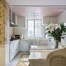 精美面积82平欧式二居餐厅装修图