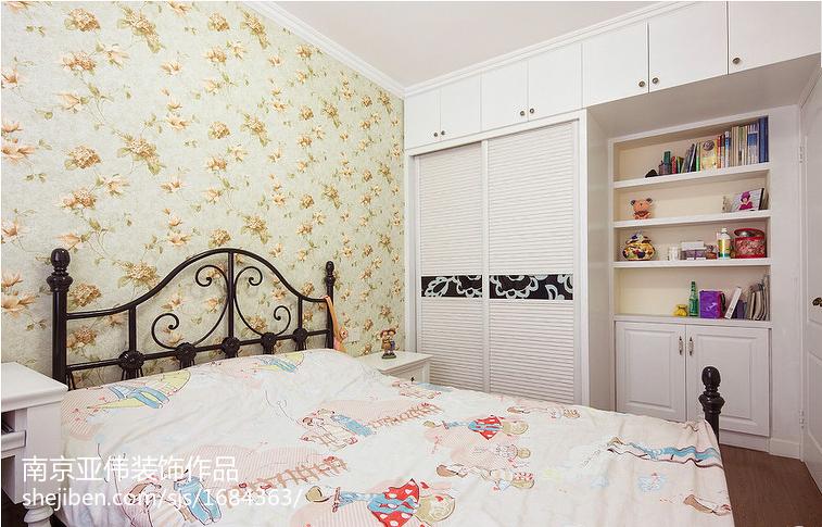 热门78平米二居卧室欧式装修图片