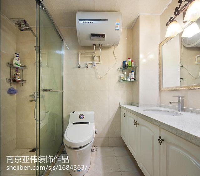 精选欧式二居卫生间效果图片大全