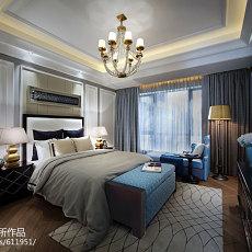 热门116平米欧式别墅卧室装修实景图片