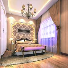 精选面积87平现代二居卧室装修实景图
