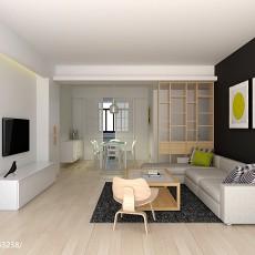 热门面积92平现代三居客厅欣赏图片大全