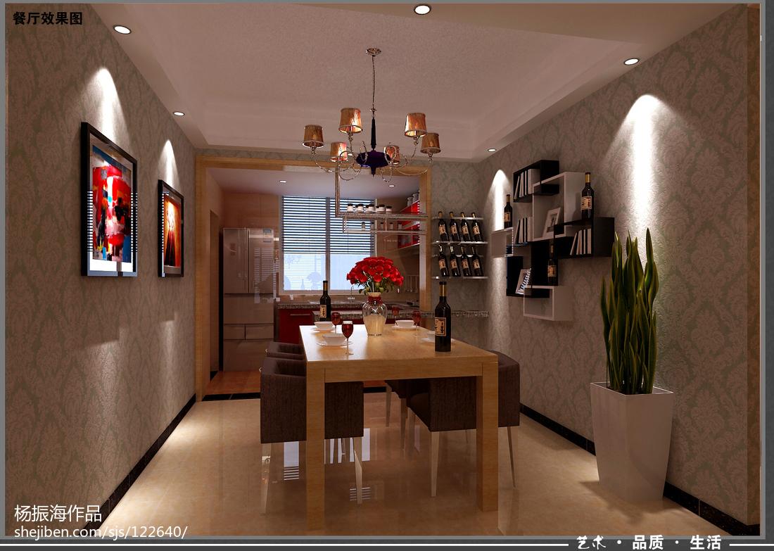 豪华大气的后现代风格别墅装修效果图餐厅图片