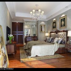 2018精选116平米美式复式卧室欣赏图片大全