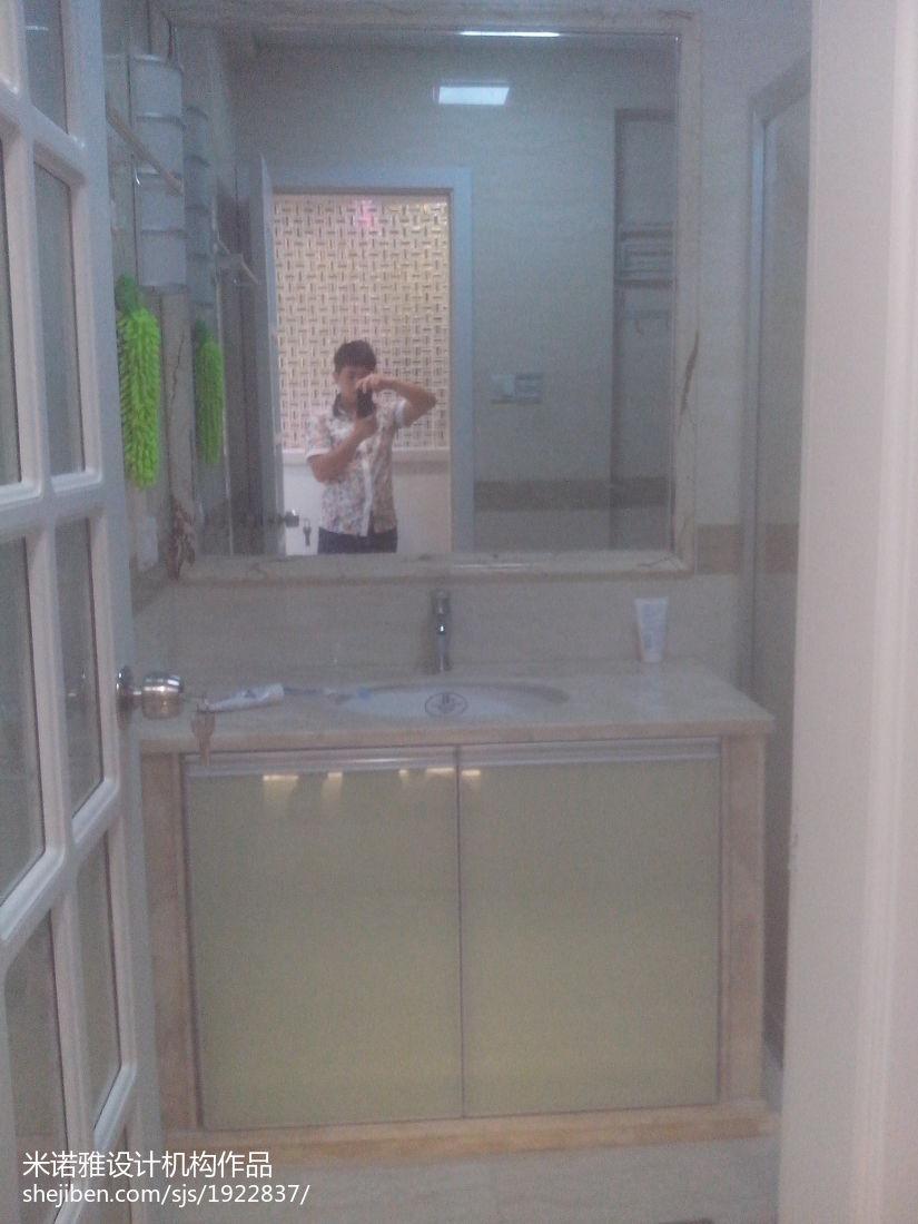 精选现代三居卫生间装修效果图片欣赏