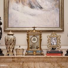 2018精选128平米欧式别墅客厅装修图片大全