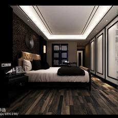 精美面积94平现代三居卧室实景图