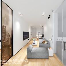 大小90平现代三居客厅欣赏图