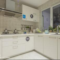 精选95平米三居厨房现代装饰图片欣赏