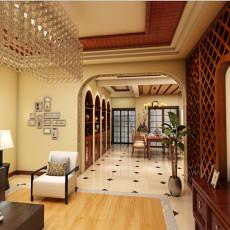 精选复式客厅东南亚实景图片大全