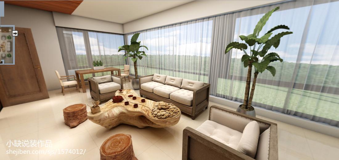 东南亚复式休闲区欣赏图片大全