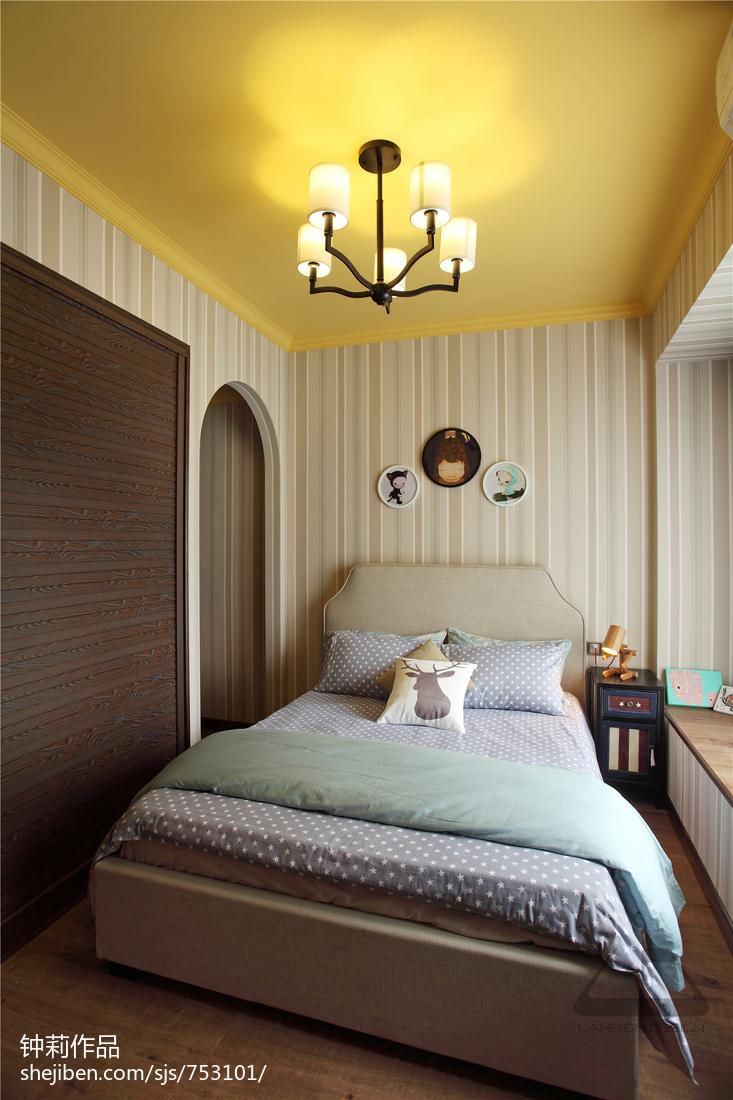 精选121平米混搭复式儿童房装修欣赏图片