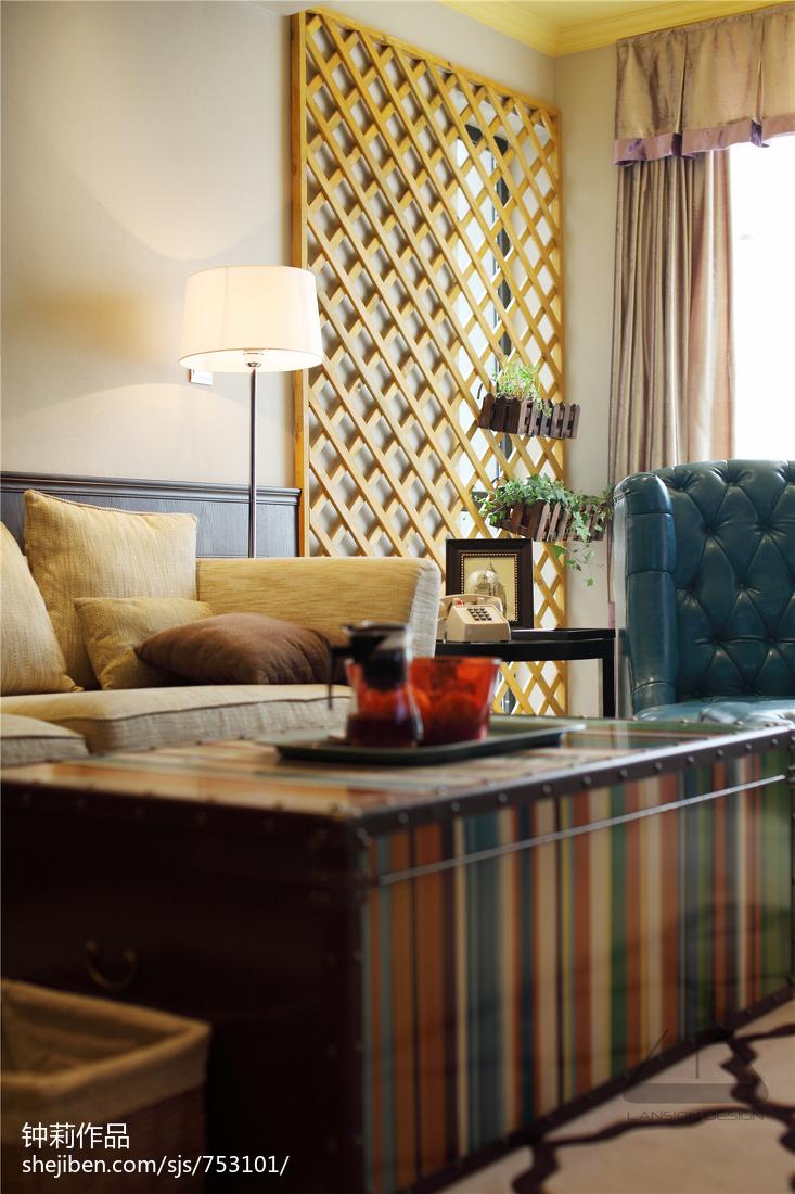 精美141平米复式混搭客厅装饰图