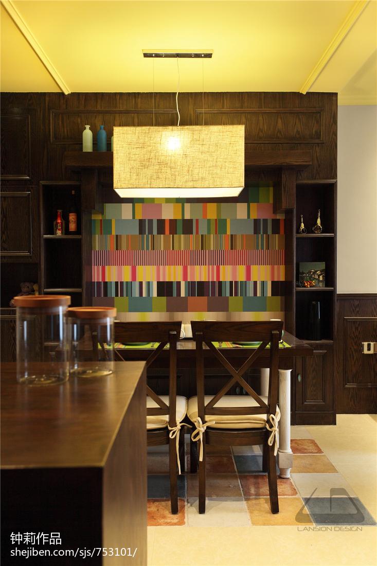 精选114平米混搭复式客厅装修效果图片欣赏
