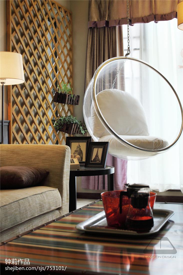 精选122平米混搭复式客厅装修图片欣赏
