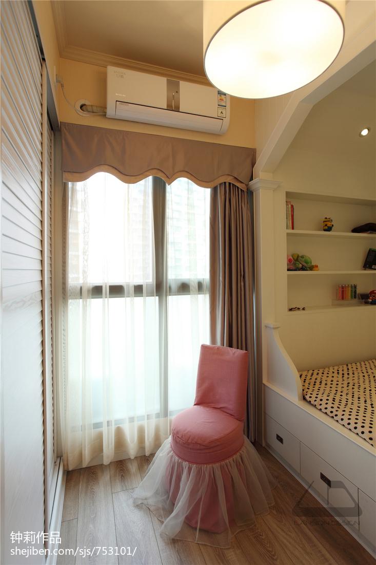 热门面积142平现代四居卧室装修实景图