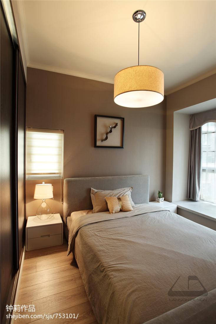 精美现代四居卧室欣赏图片大全