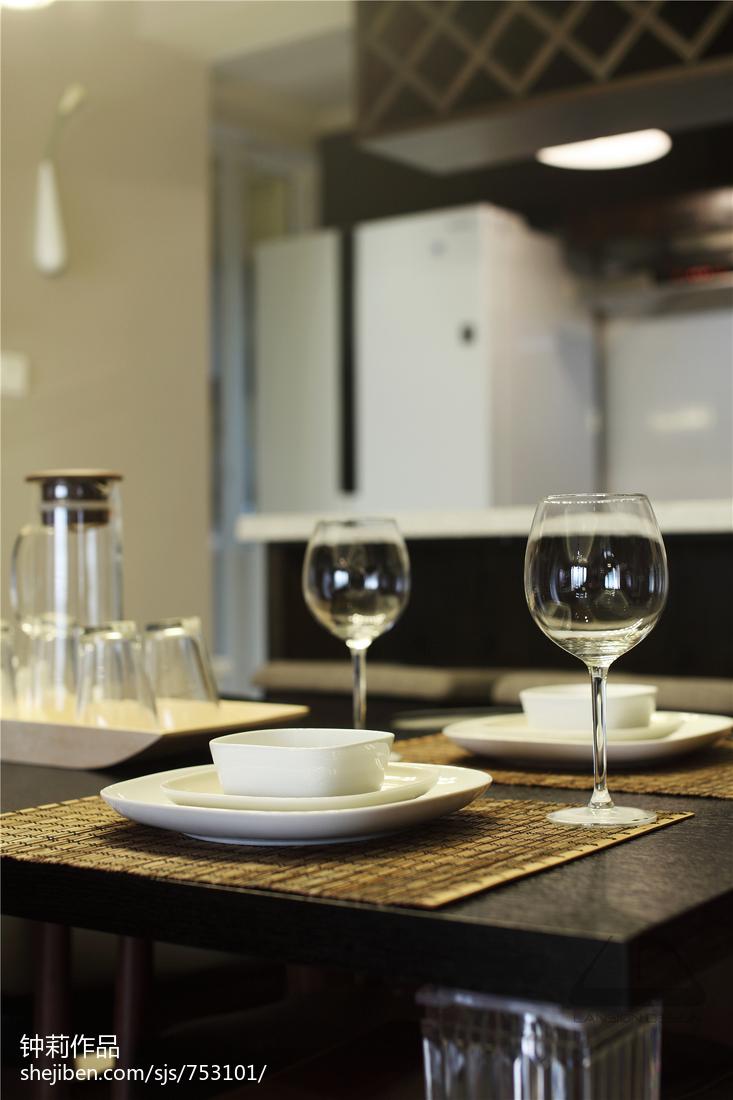 精选117平米四居餐厅现代装修设计效果图