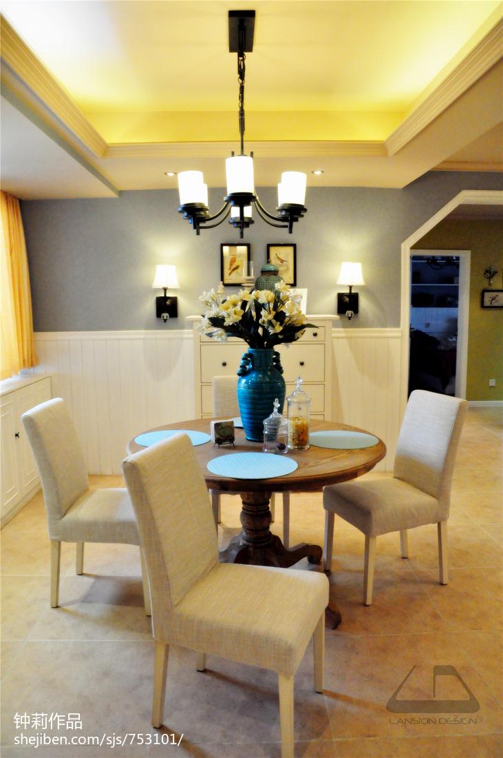 热门100平方三居餐厅混搭装修设计效果图