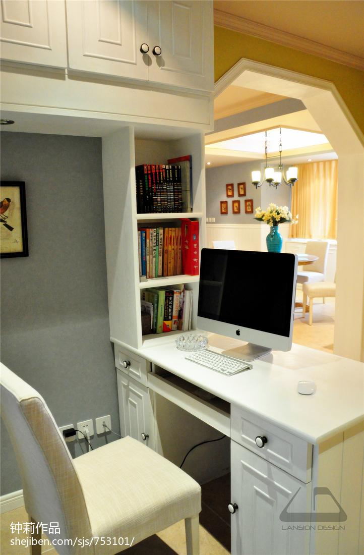 精选三居书房混搭装修效果图片大全
